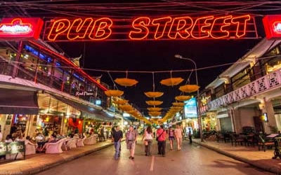 Siem reap Bup street beer 50cents