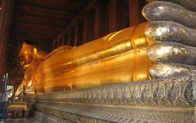 Giant Golden Buddha